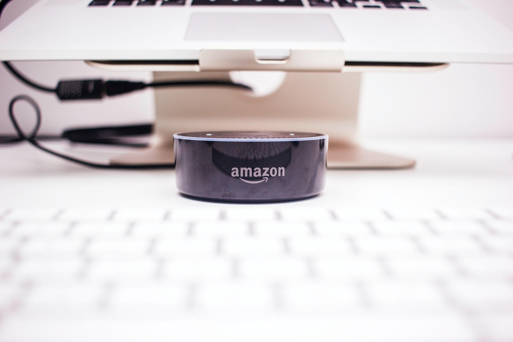 Image shows Amazon Logo