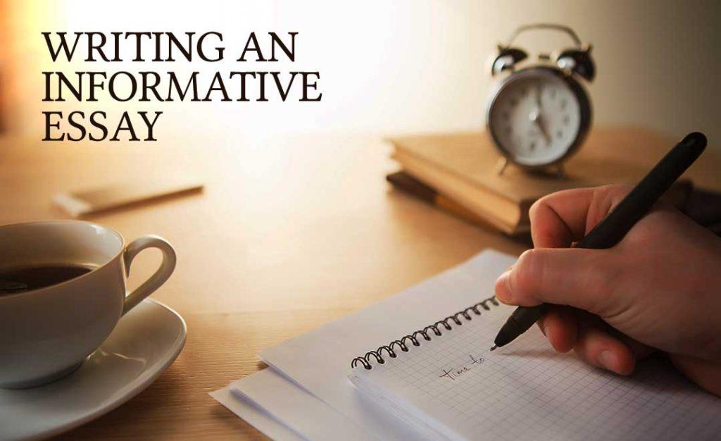 writing an informative essay