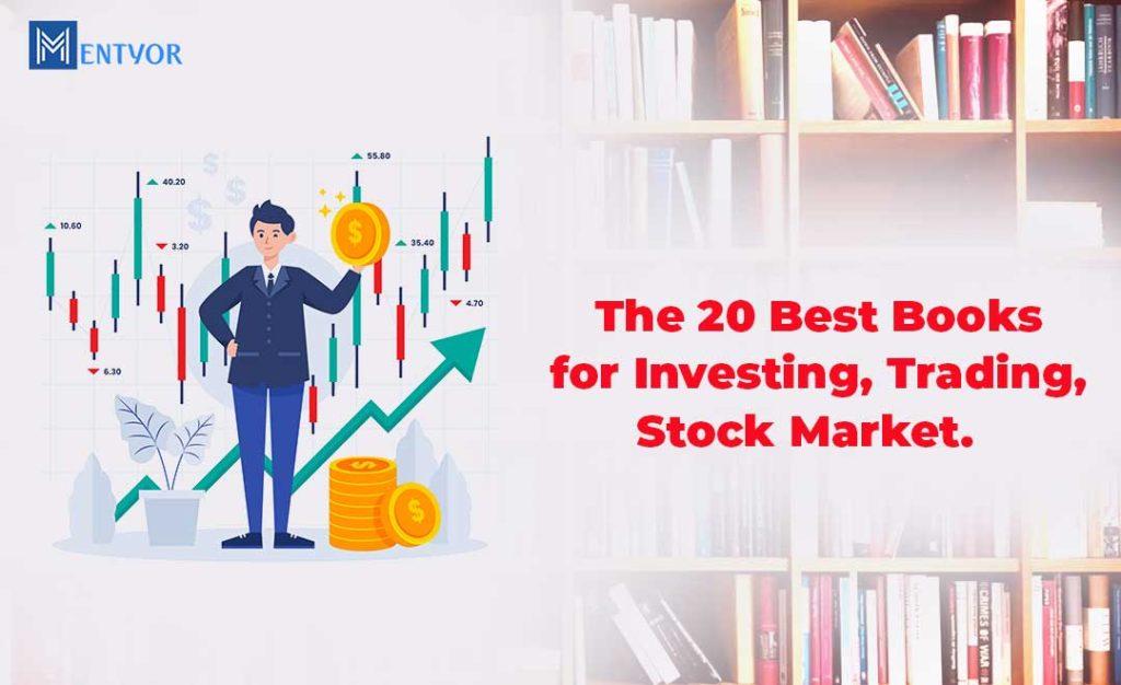 20 best books for investment, trading, stock market